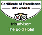 TripAdvisor 2015 certificate in excellence