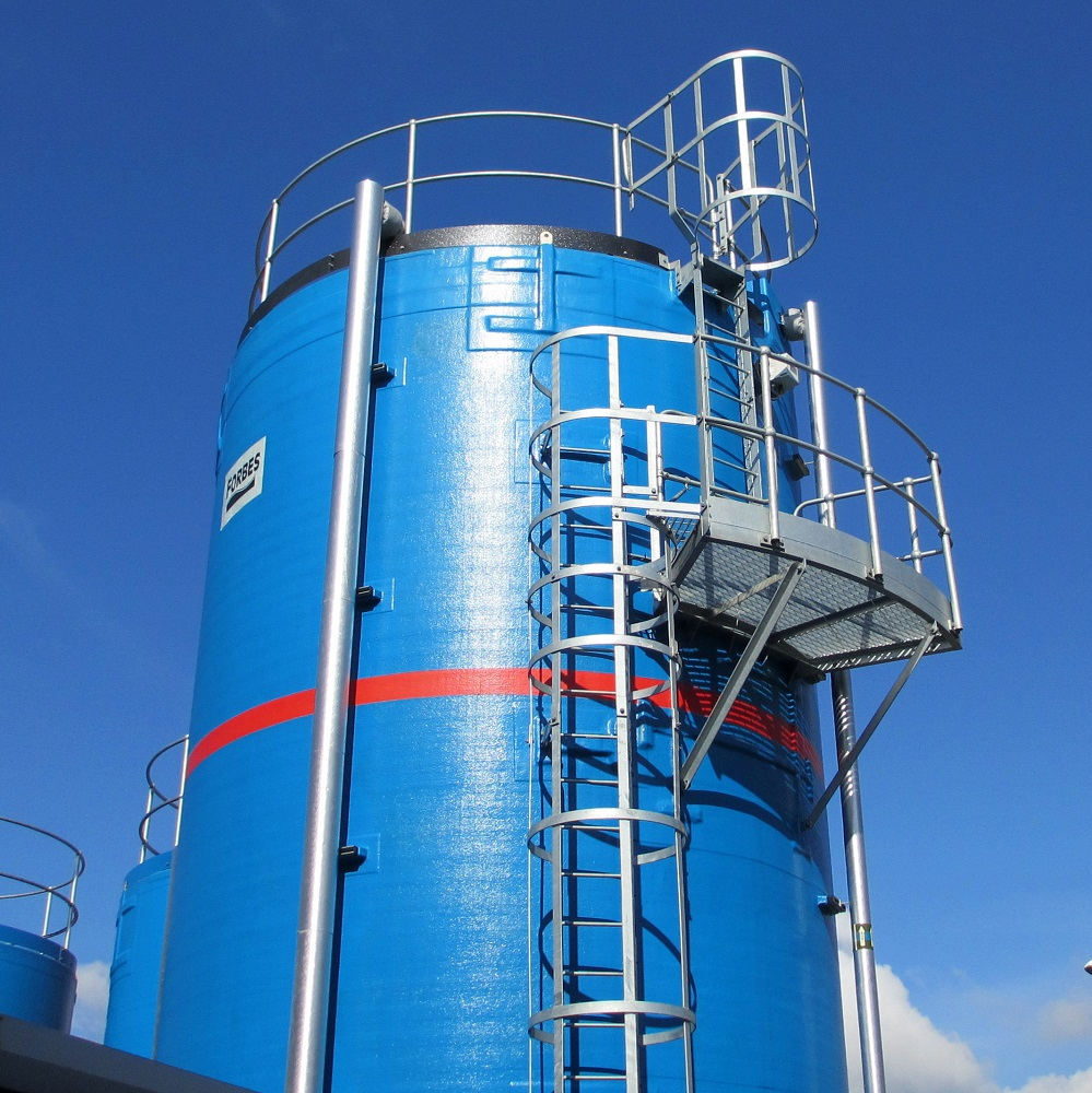 Fire Fighting Water Storage Tanks - The Forbes Group